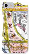 Tsar In Carriage IPhone Case by Marwan George Khoury