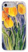 Tulips IPhone Case by Sherry Harradence