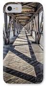 Tulsa Pedestrian Bridge IPhone Case by Tamyra Ayles