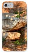 Tumbled Parthenon Columns IPhone Case by Deborah Smolinske