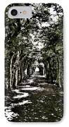 Tunnel Of Trees ... IPhone Case