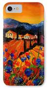 Tuscany Poppies IPhone Case by Pol Ledent