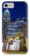 Twilight In Charlotte IPhone Case by Serge Skiba