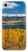Twin Lakes Colorado Autumn Snow Dusted Mountains IPhone Case by James BO  Insogna