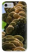 Twist Of Shrooms IPhone Case by Christina Rollo