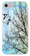 Two For Joy IPhone Case by John Edwards