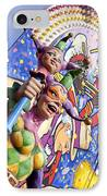 Two Jesters IPhone Case by Caitlyn  Grasso