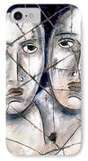 Two Souls - Study No. 1 IPhone Case