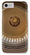 U S Capitol Rotunda IPhone Case by Steve Gadomski
