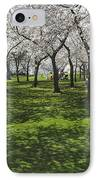 Under The Cherry Blossoms - Washington Dc. IPhone Case