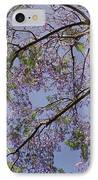 Under The Jacaranda Tree IPhone Case