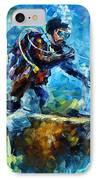 Under Water IPhone Case by Leonid Afremov