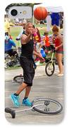 Unicyclist - Basketball - Street Rules  IPhone Case