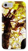 Untitled-twin Trees IPhone Case