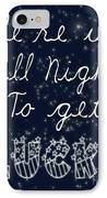 Up All Night IPhone Case by Pati Photography