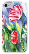 Upcoming Wind Poppy Field IPhone Case by Irina Sztukowski