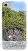 Uphill Downhill IPhone Case by Susan Leggett