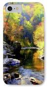 Upstream IPhone Case by Karen Wiles
