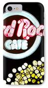 Urban Abstract Hard Rock Cafe IPhone Case by Dan Sproul