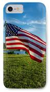 Usa Flag IPhone Case by Phyllis Bradd