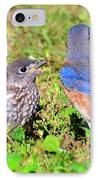 A Mothers Care IPhone Case by David Lee Thompson