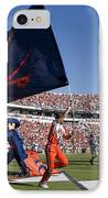Uva Virginia Cavaliers Football Touchdown Celebration IPhone Case by Jason O Watson