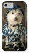 Vacation Dog IPhone Case