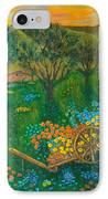Val D'orcia IPhone Case by Pamela Allegretto