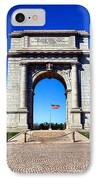 Valley Forge Landmark IPhone Case by Olivier Le Queinec