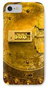 Vault Door IPhone Case by Eric Bott