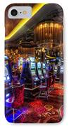 Vegas Slot Machines IPhone Case by Yhun Suarez