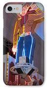 Vegas Vic IPhone Case by Kay Novy