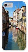 Venice Canal IPhone Case by Bill Cannon