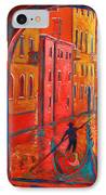 Venice Impression Viii IPhone Case by Xueling Zou
