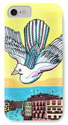 Venice Seagull IPhone Case by Don Koester