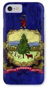 Vermont Flag IPhone Case