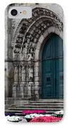 Viana Do Castelo Cathedral IPhone Case by James Brunker
