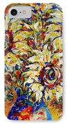 Vibrant Sunflower Essence IPhone Case