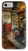 Victorian Fire Place IPhone Case by Adrian Evans