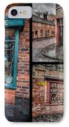 Victorian Shops IPhone Case by Adrian Evans