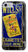 Victorian Sign IPhone Case by Adrian Evans