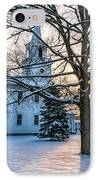 Village Of Washington Depot - Connecticut IPhone Case by Thomas Schoeller