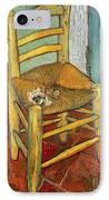 Vincent's Chair 1888 IPhone Case