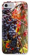 Vines Of October IPhone Case by Roger Bailey