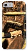 Vintage Barrel Tap IPhone Case by Paul Ward
