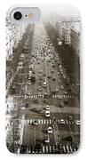 Vintage Champs Elysees IPhone Case