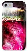 Vintage Coca Cola Glass With Ice IPhone Case by Bob Orsillo