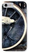 Vintage Drive Wheel IPhone Case by Olivier Le Queinec