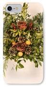 Vintage Floral Arrangement IPhone Case