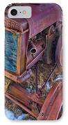 Vintage John Deere IPhone Case by Inge Johnsson